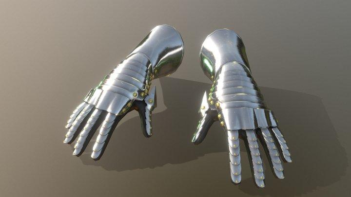 HIE Hand Armor D180423 3D Model