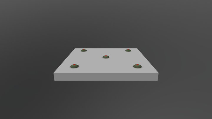 5 Mine 3D Model