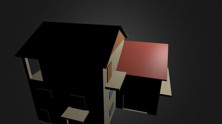 My house in Stara Vrhnika 3D Model
