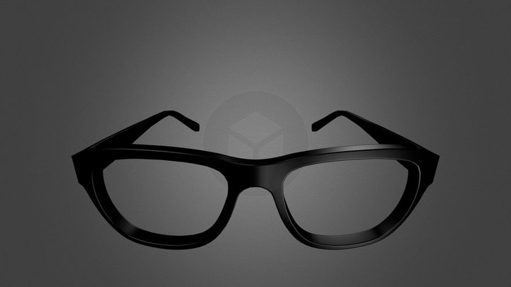 Mens Glasses 3D Model