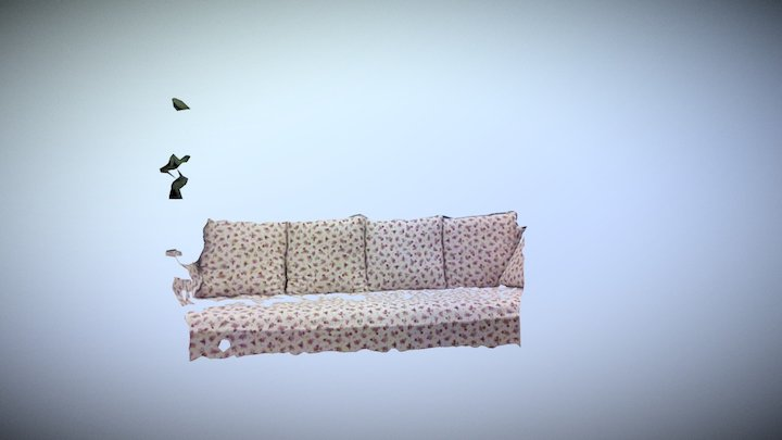4D video (R200 #02, couch) 3D Model