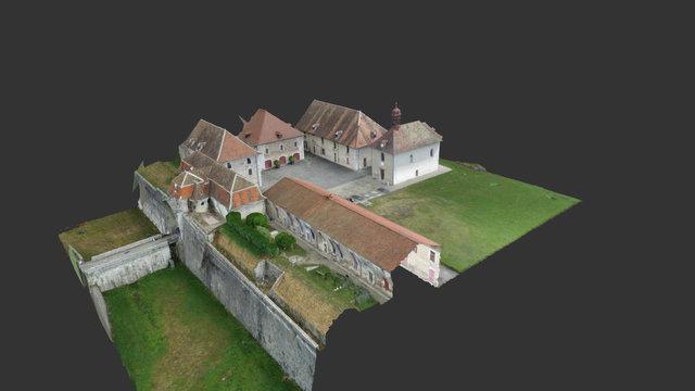 Fort Barraux 3D 3D Model