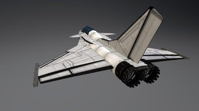 dassault rafale 3D Model