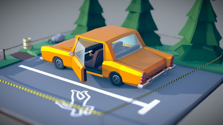 Crime Scene - YOUR investigation is needed! 3D Model