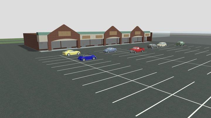 Liberty Center Proposal 1 3D Model