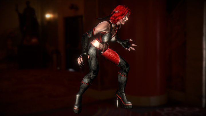 BloodRayne 3D Model