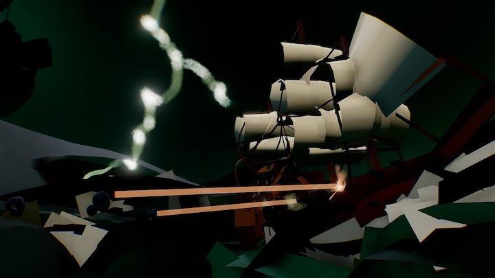 Kocour - Pirates of Caribbean 3D Model