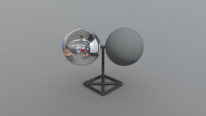 LD Balls Decor v01 3D Model