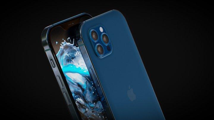 iPhone12 Pro 3D Model
