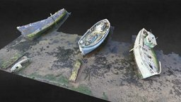 Plymouth Boats 3D Model