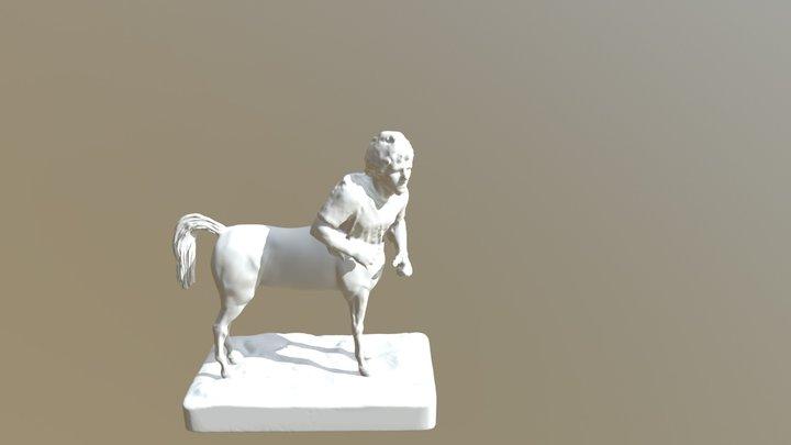 Centaur Terry Fox 3D Model