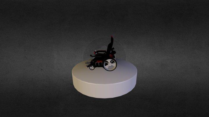 Rollstuhl-911 C U D A 3D Model