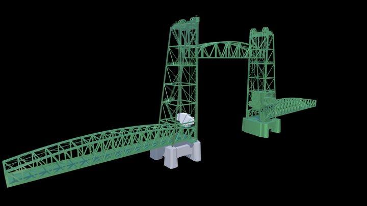 Movable Bridge 3D Model
