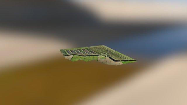 Schilfpolder Wiegboldsbur 3D Model