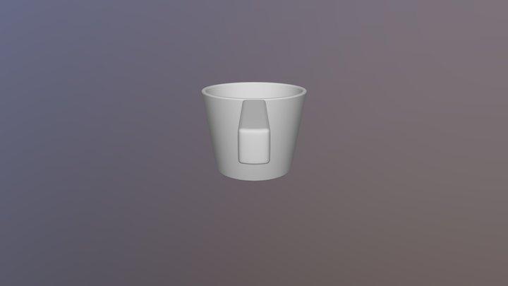 Bath Pail 3D Model