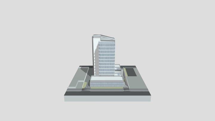 Limassol Business Center 3D Model