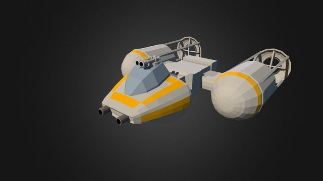 Y-wing (Star Wars Contest 2015) 3D Model
