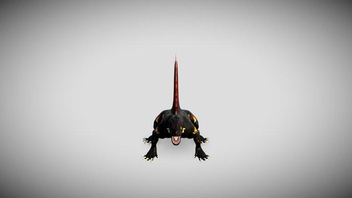 Saurian 3D Model