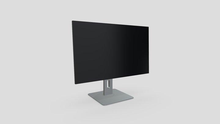 25 inches flatpanel computer screen 3D Model