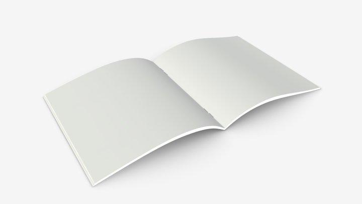 Brochure book 02 3D Model