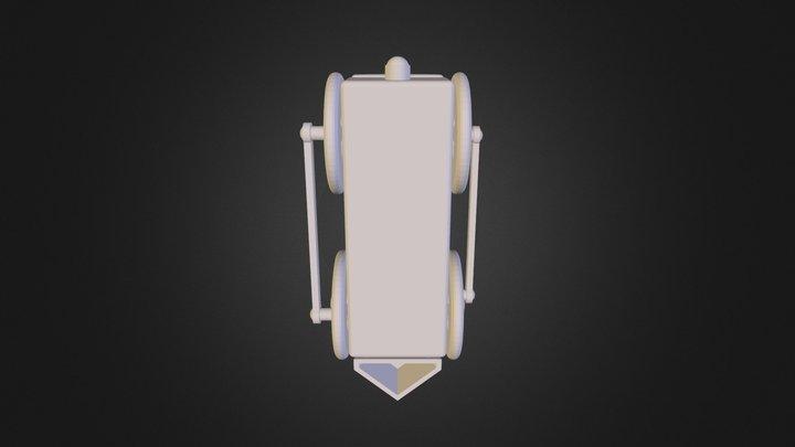 Train Assembly 3D Model