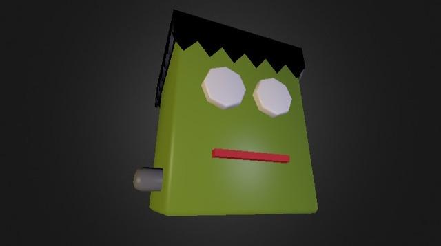 Frankenstein 3D Model