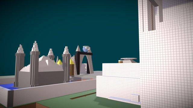 3dcraft #3 3D Model