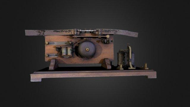 Branley Coherer 3D Model