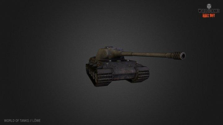 Löwe - World of Tanks 3D Model