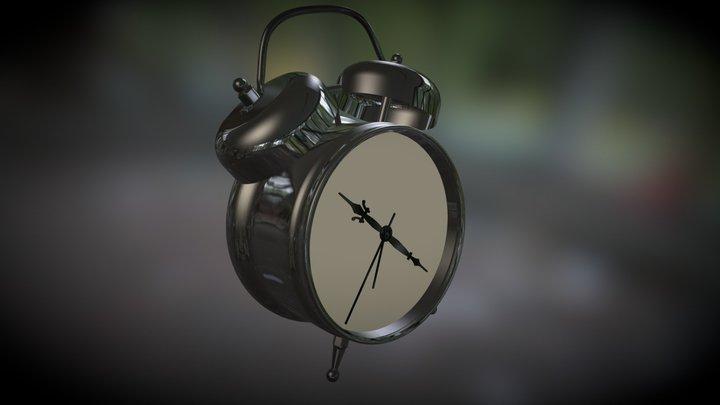 Test File Clock 3D Model