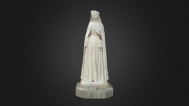 Rainha Isabel 3D Model