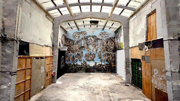 The Underground Sistine Chapel - PBOY 3D Model