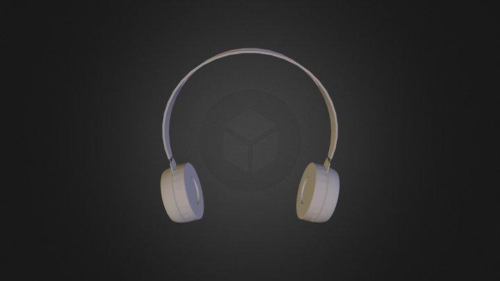 Simple Headphones 3D Model