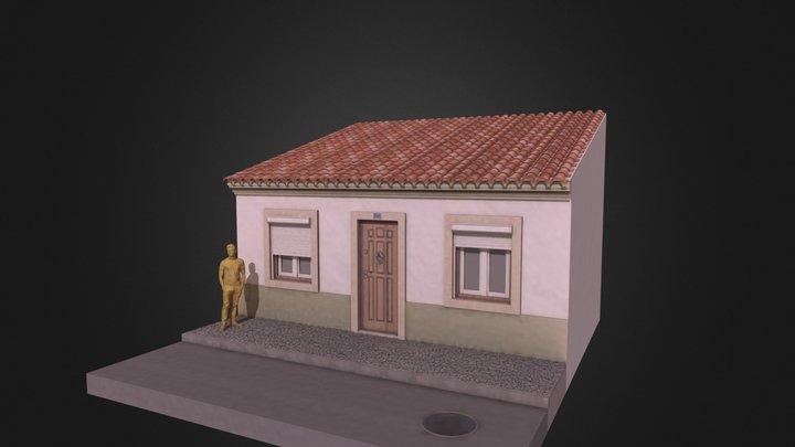 Traditional House Lisboa 3D Model