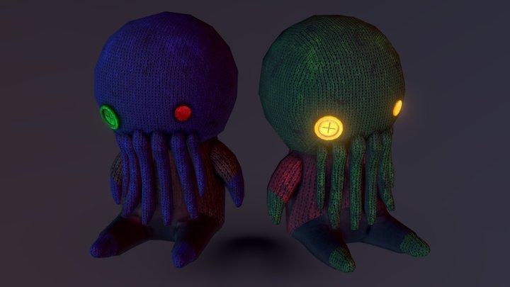 CuteThuhlu & 'Lovecraft's Presence' 3D Model