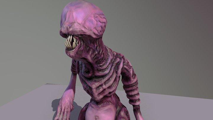 Fat Beast 3D Model