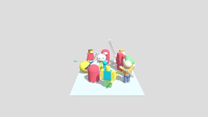 The Rebellion 3D Model