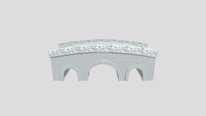 Pont En Pierre 3D Model