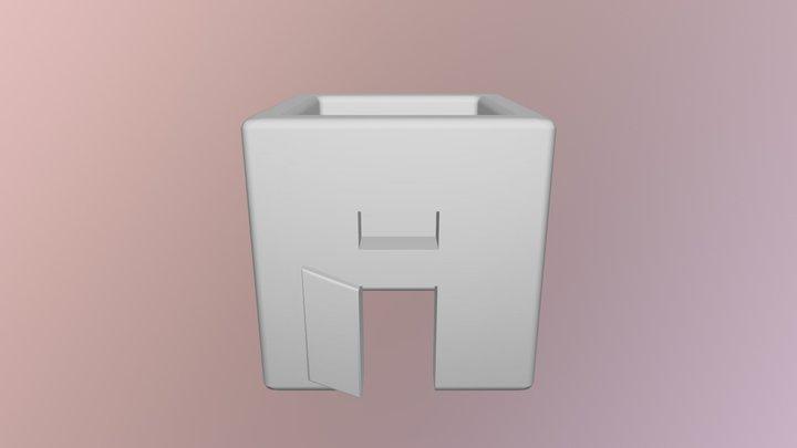 Porte Cle 13 PC STL 3D Model