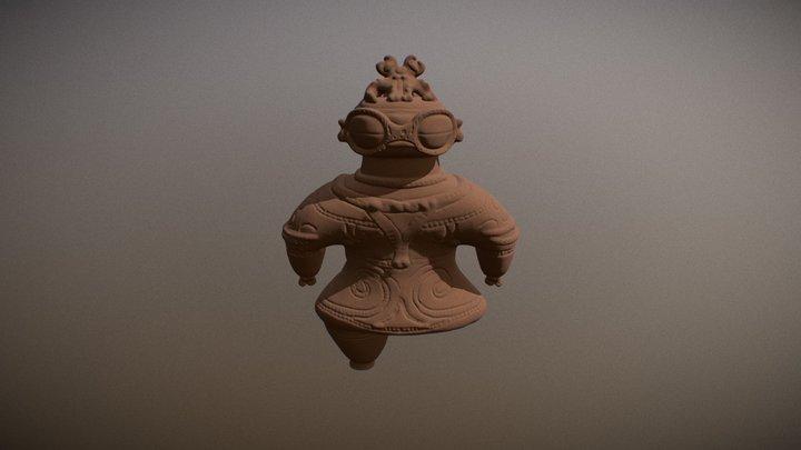 Cray Figure 3D Model