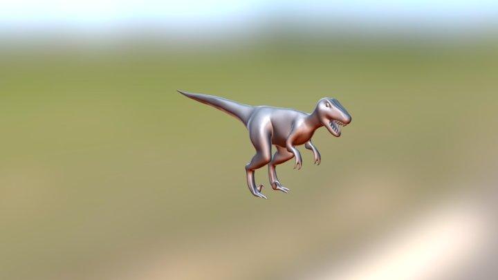 Low Res Raptor Mapped 3D Model