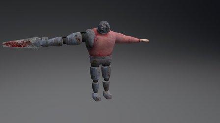 Big Enemy 3D Model