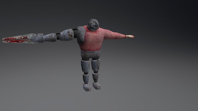 Big Enemy 3D Model