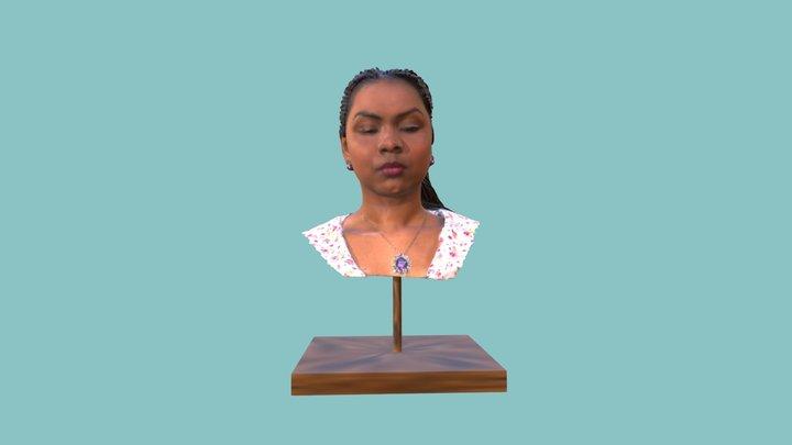 Surface Scan : Human Face 3D Model