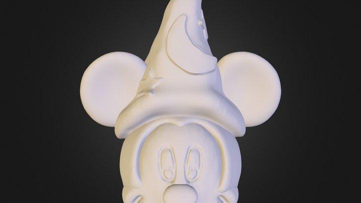 Mickey Alcancia Finalizado 3D Model