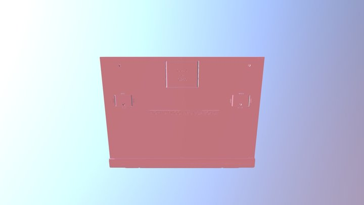 Frame And Cover 3D Model