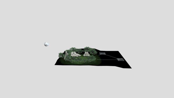 Tikal (Map for AR) 3D Model