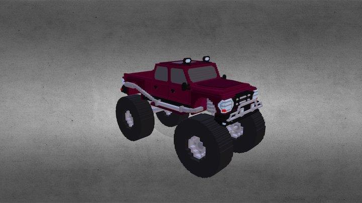 Monster Truck 01 3D Model