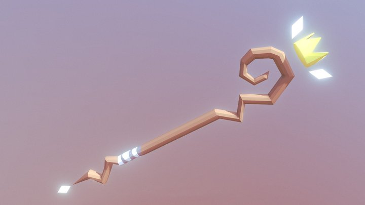 Staff 3D Model
