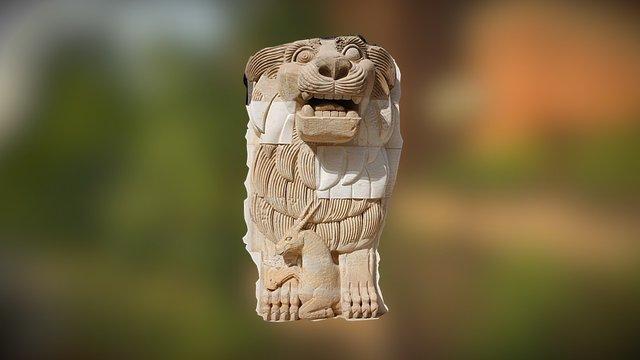 Lion of Al-lāt 3D Model